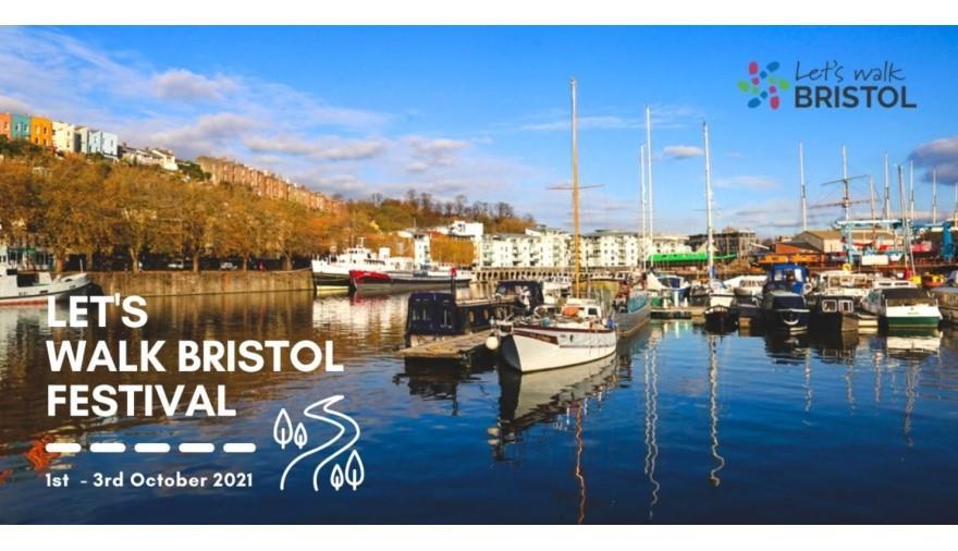 Let's Walk Bristol 2021 poster