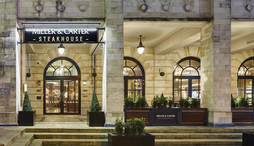 Miller & Carter Steakhouse Entrance