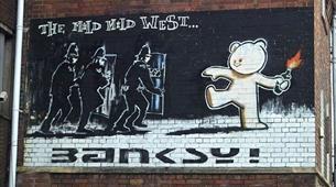 Bristol Banksy Walking Tour - Mild Mild West