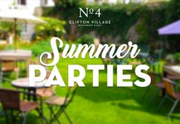 No.4 Clifton Village Summer Parties