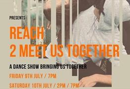 REACH: 2 Meet Us Together dance poster
