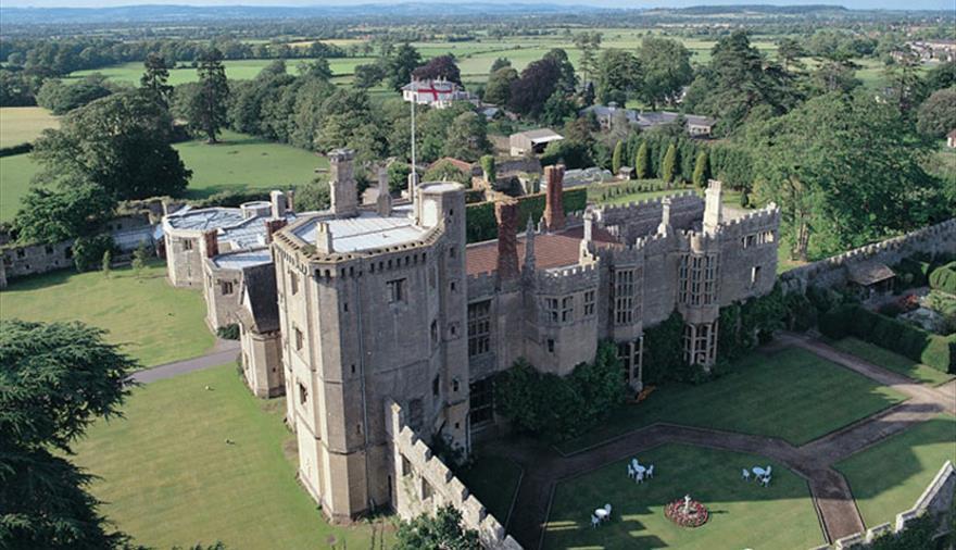 Exterior shot of Thornbury Castle