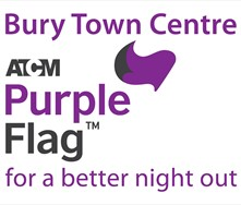 Bury Purple Flag Logo
