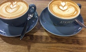 Coffee at Grind and Tamp