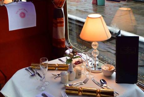 Red Rose Diner on the East Lancashire Railway