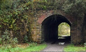 Tunnel in Prestwich Forest Park