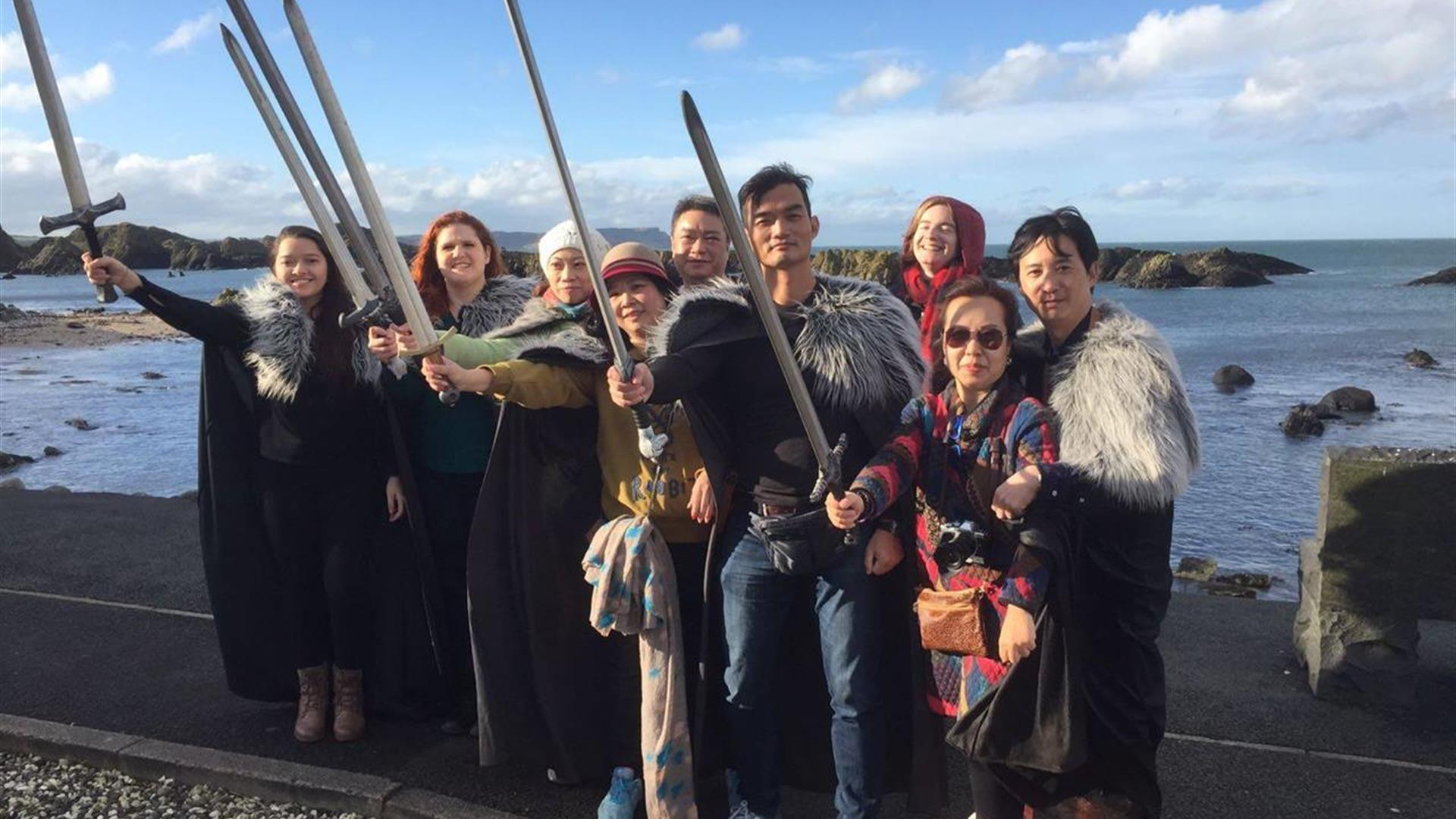 Stones and Thrones Game of Thrones® Location Tour