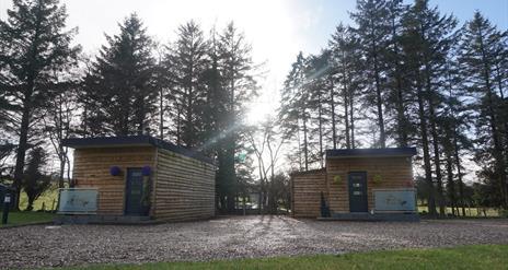 Log Cabins at Fairy Glen
