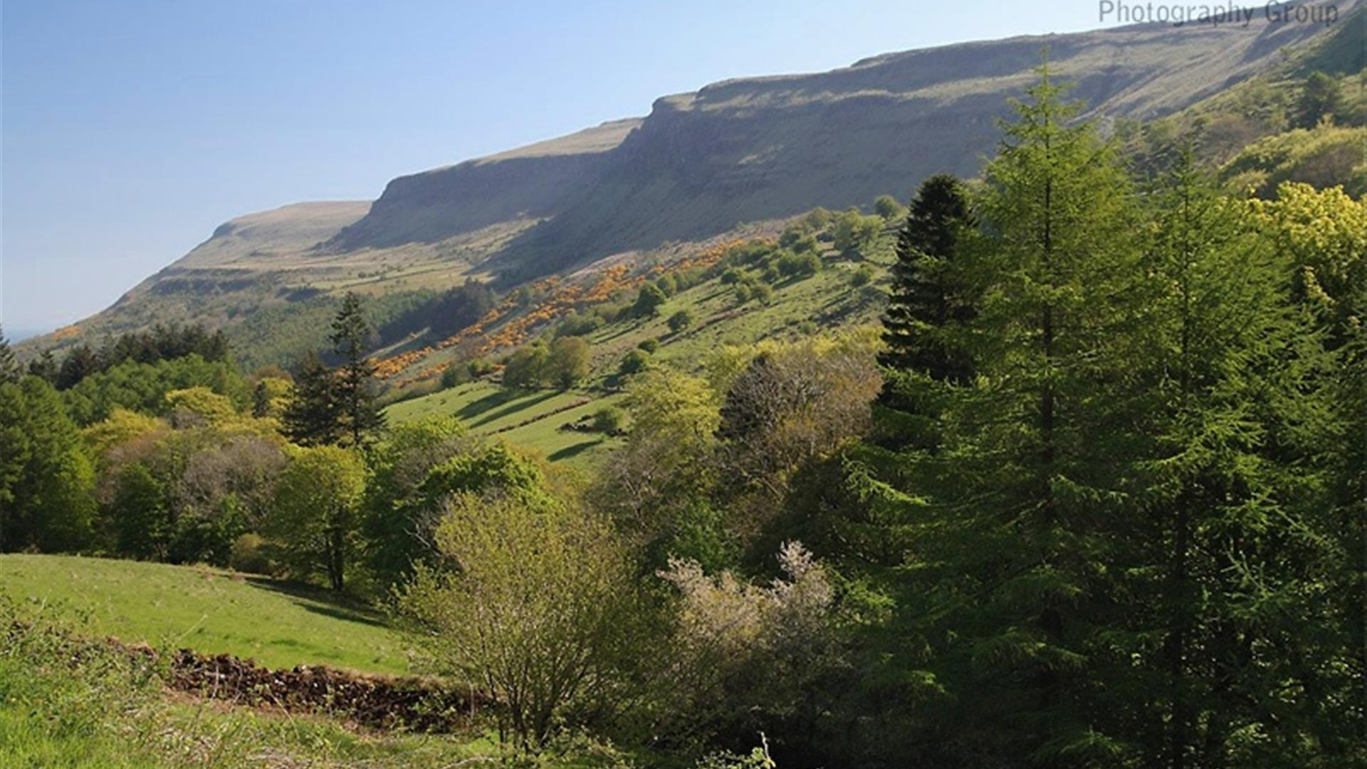 Glenariff Forest Park, Viewpoint Trail