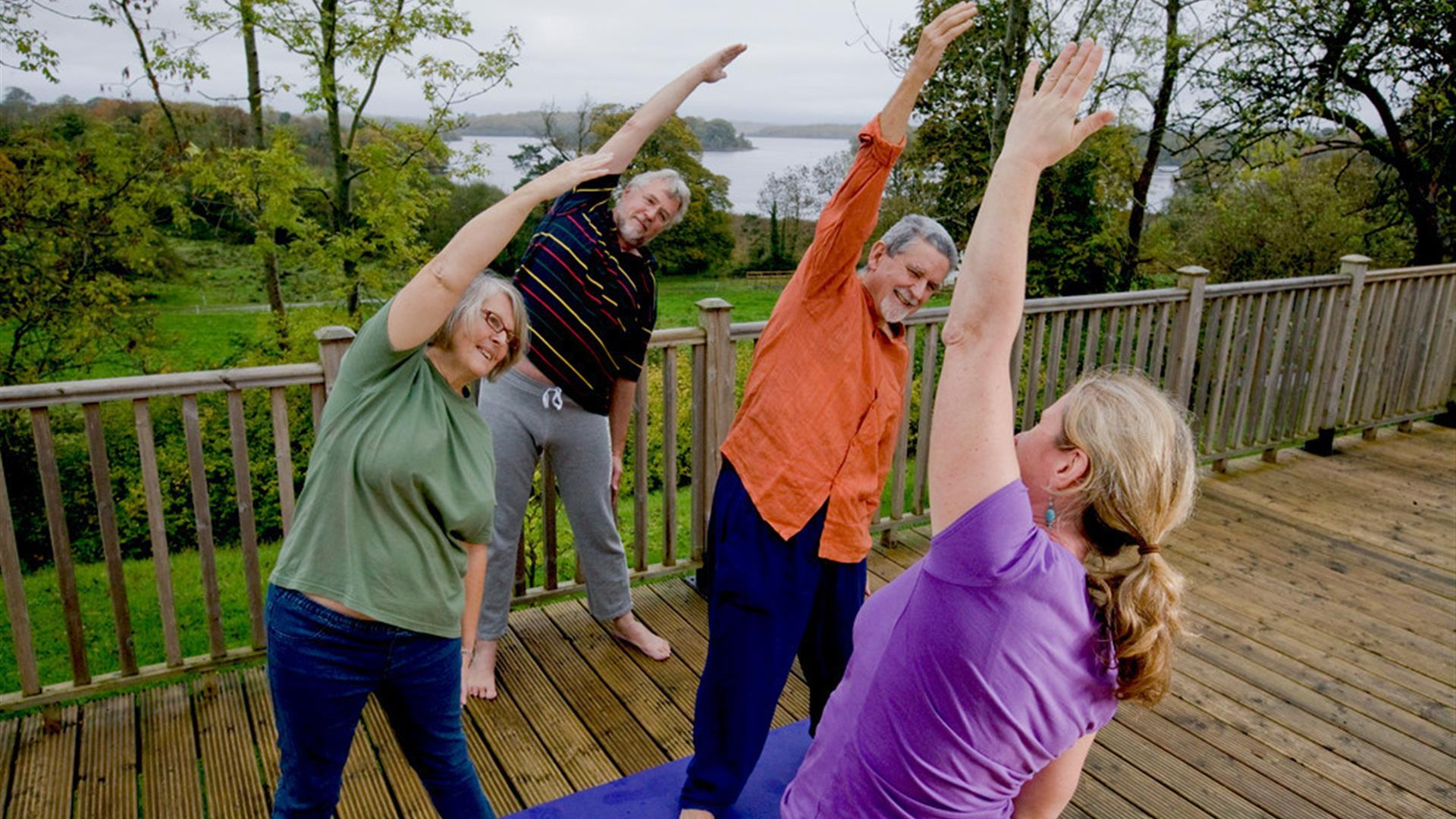 Glens of Antrim Yoga Tour (online classes only)