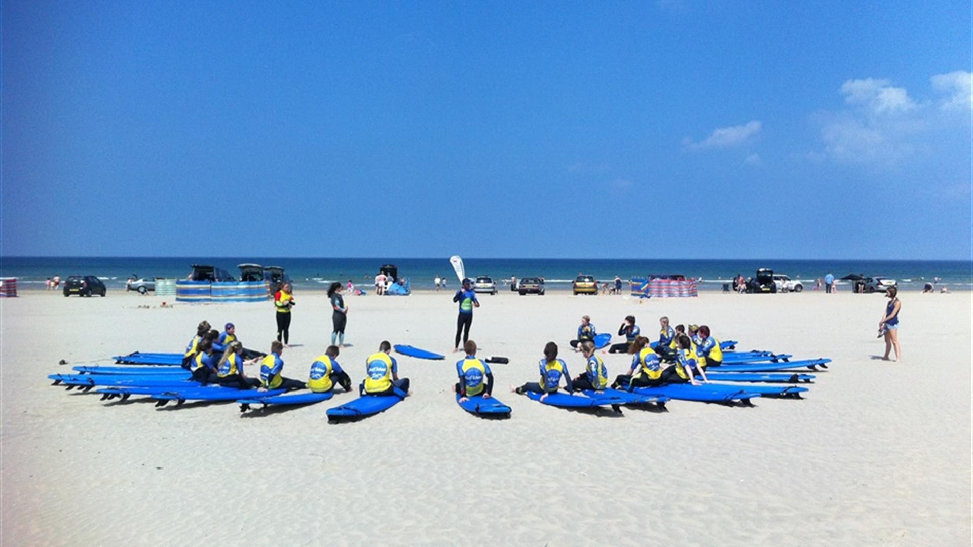 Long Line Surf School
