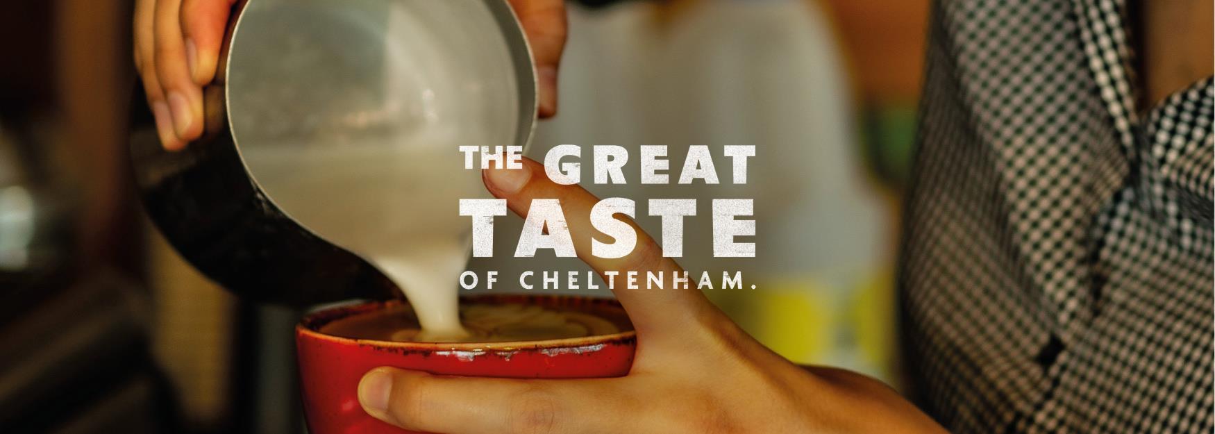 The Great Taste of Cheltenham campaign branding