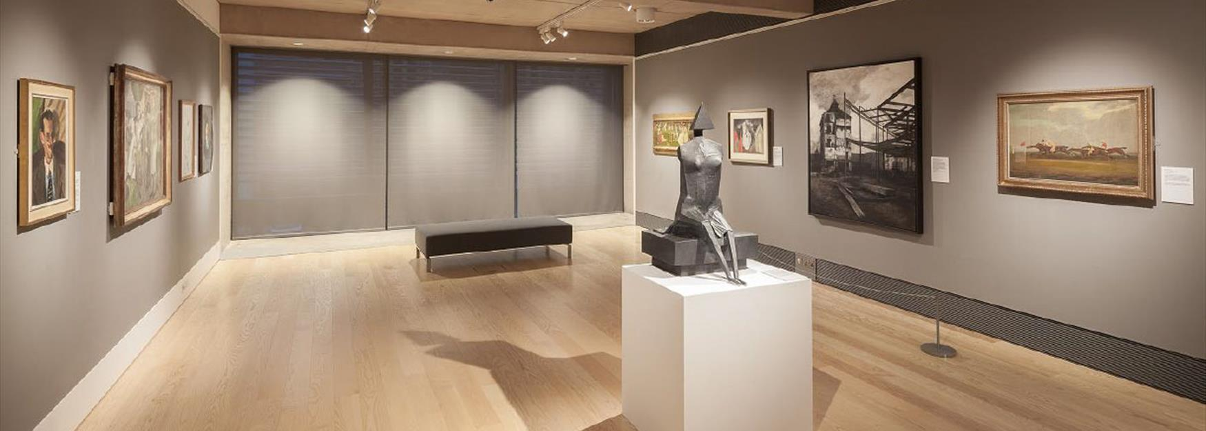 One of the many galleries within The Wilson Art Gallery and Museum in Cheltenham