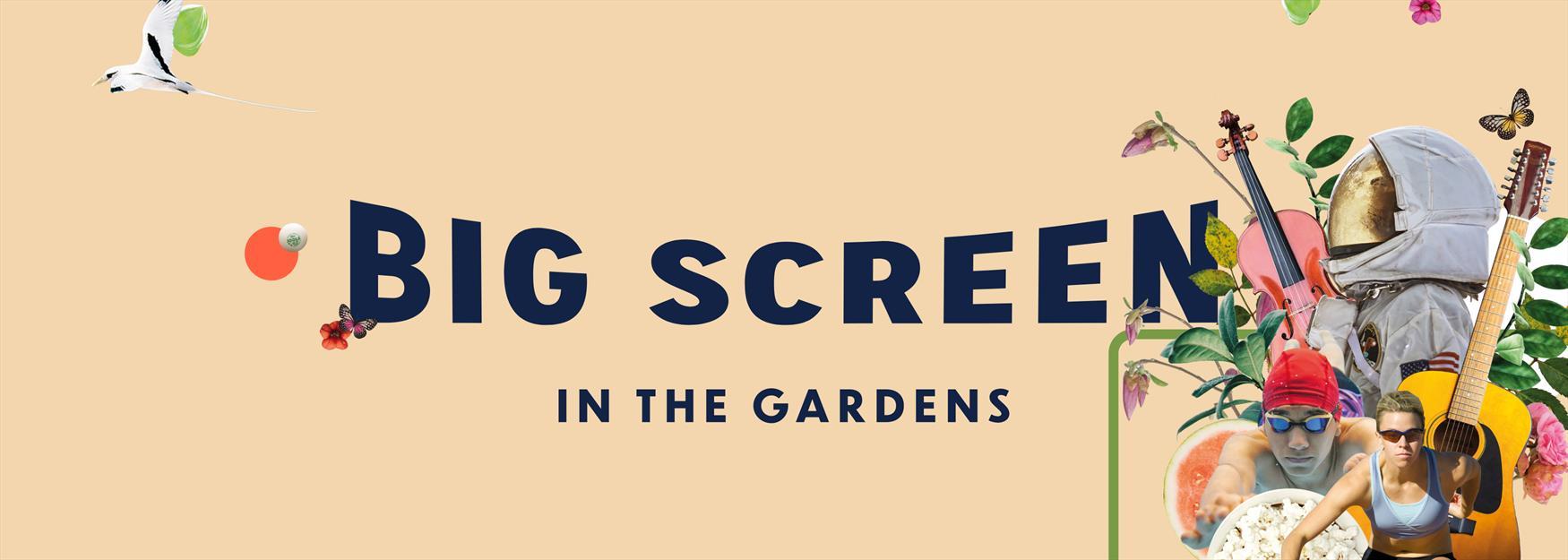Big Screen in the Gardens, Imperial Gardens, Cheltenham