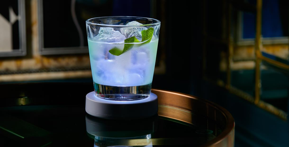 Light Up Cheltenham themed cocktails at The Ivy Montpellier