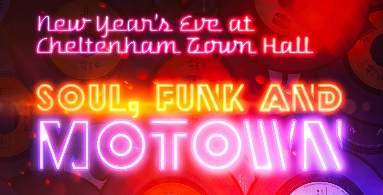 New Year's Eve - Soul, Funk & Motown at Cheltenham Town Hall