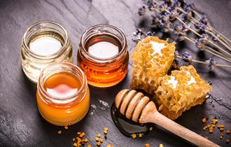 Pots of honey