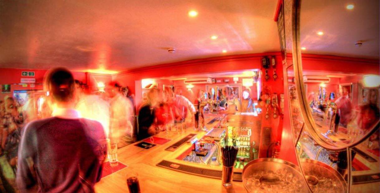 Interior of 21 Club