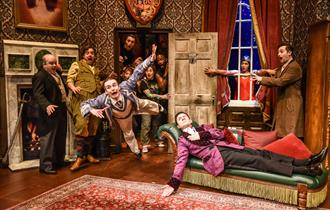The Play That Goes Wrong, Everyman Theatre Cheltenham