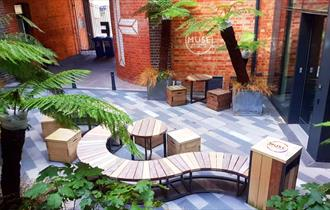 New Al Fresco Dining Space at MUSE Brasserie Cheltenham