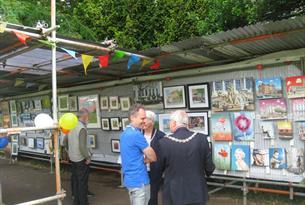 Art in the Park Cheltenham
