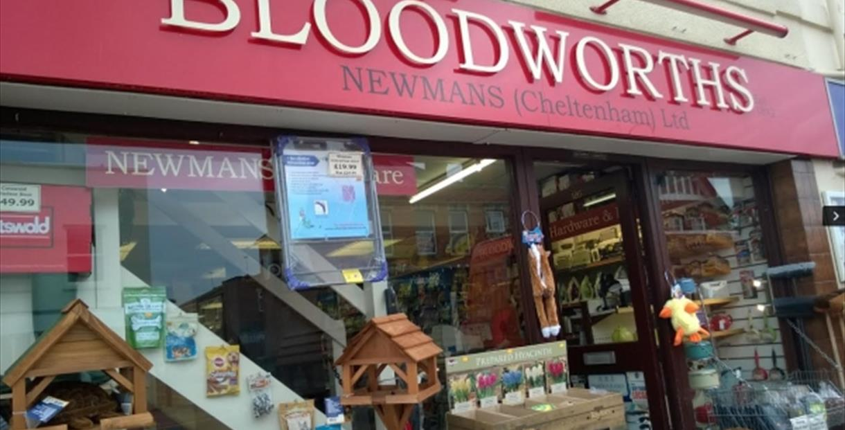 Exterior of Newmans and Bloodworths