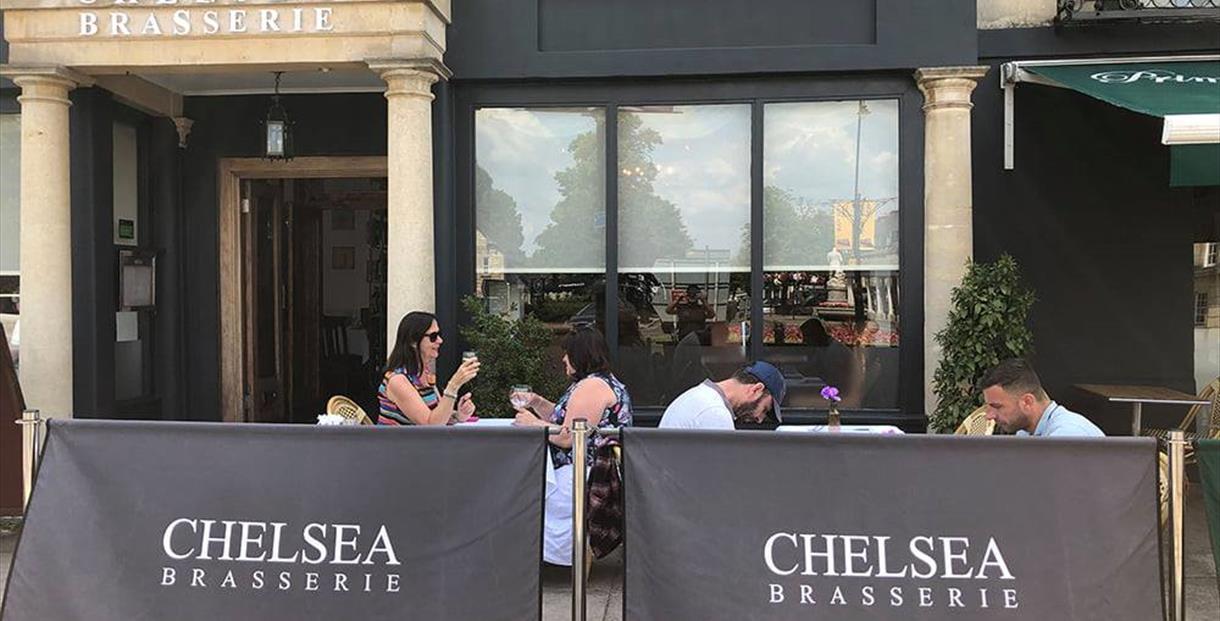 Chelsea Brasserie & Bar exterior shot