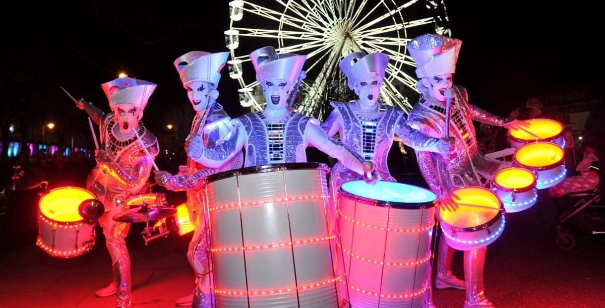 Light Up Cheltenham launch night
