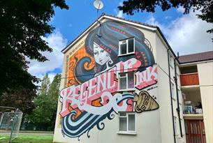 Cheltenham Paint Festival - Inkie PE Way