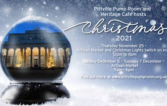 Pittville Pump Room Christmas Artisan Market & Light Switch On Event