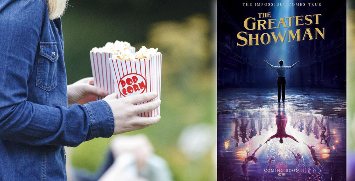 Open Air Cinema - The Greatest Showman at Cowley Manor
