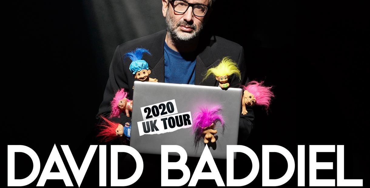David Baddiel: Trolls; Not The Dolls