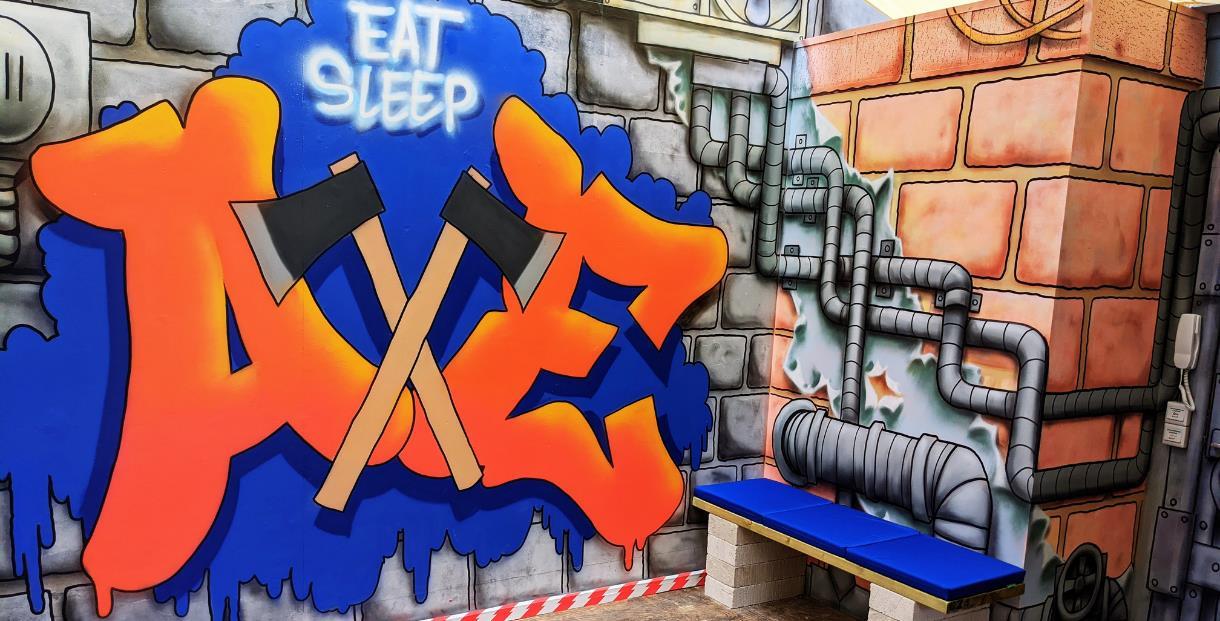 Eat Sleep Axe