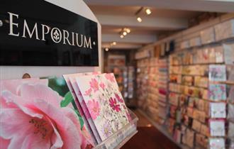 Interior of the Emporium Gift Shop