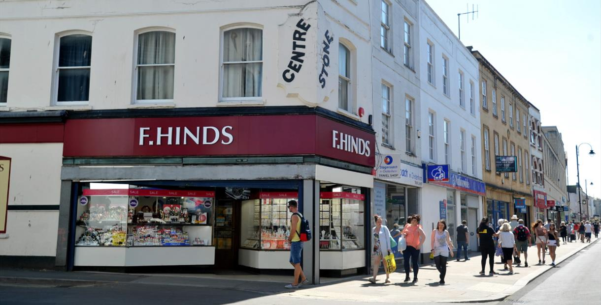 Exterior of F. Hinds