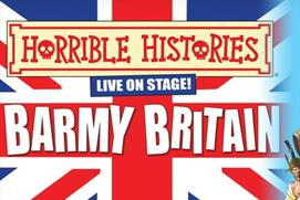 Horrible Histories Live On Stage: Barmy Britain 2021