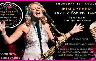 Kim Cypher Jazz / Swing Band - Launch Night At The Ivy Cheltenham