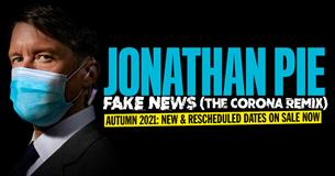 Jonathan Pie's tour promotional poster