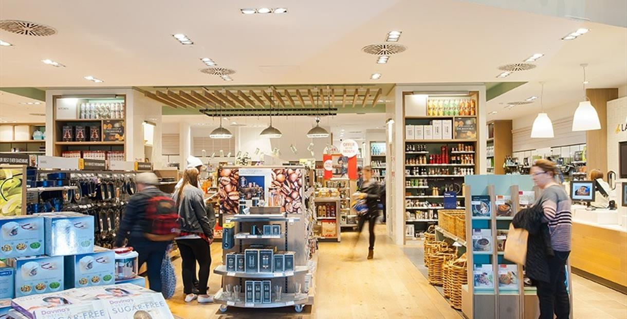 Interior of Lakeland store