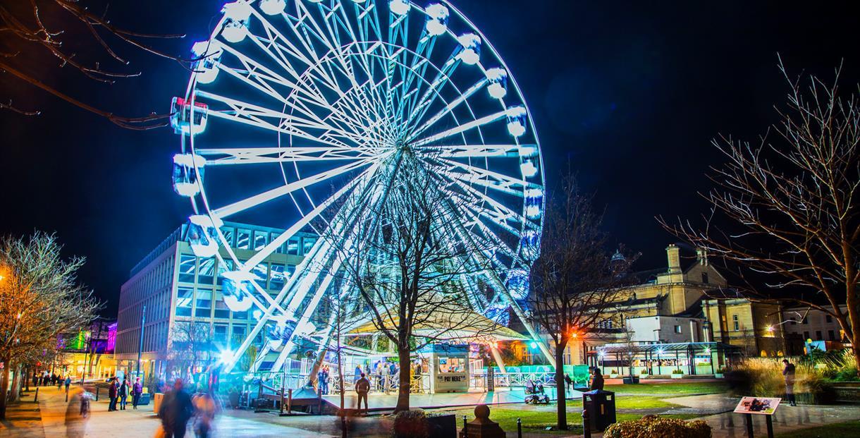 Light up Cheltenham wheel