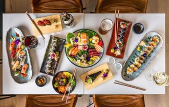 Delicious food on offer at KIBOU Cheltenham