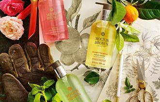 Selection of Molton Brown products