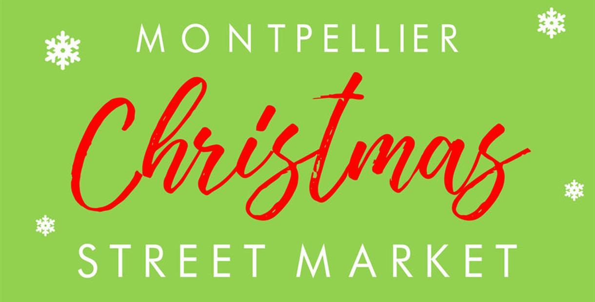 Montpellier Christmas street Market