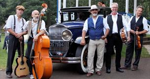 Photo of the Honeymoon Swing Band