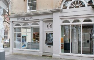Exterior of Roundhouse showroom