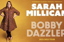 Sarah Millican tour promotion