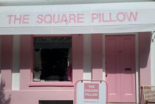 The Square Pillow shopfront