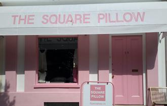 The Square Pillow shopfront