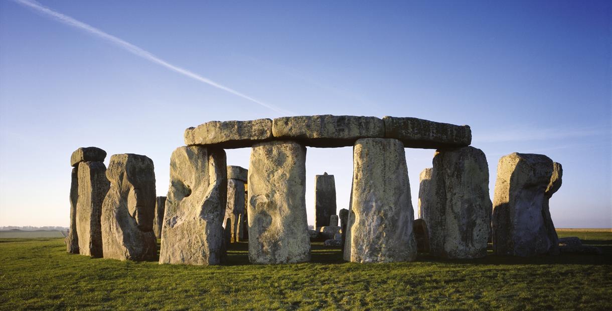 Stonehenge on Salisbury Plain in Wiltshire