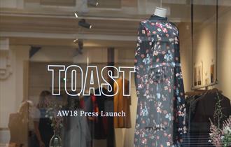 Toast shop window